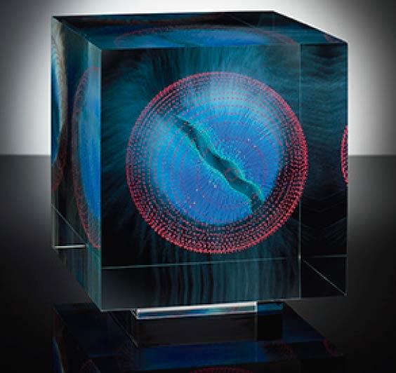 Contemporary Glass Art Works